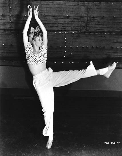Lucille Ball video dancing
